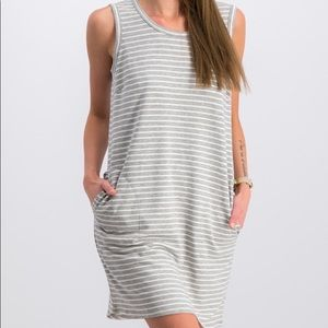 32 degrees sleeveless sweatshirt dress